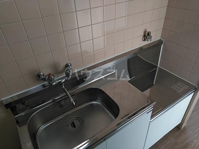 高津マンション 307号室のキッチン