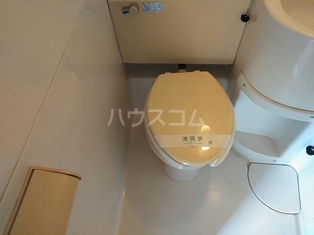高津マンション 307号室のトイレ