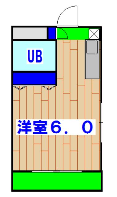 ランディー新浦安 305号室の間取り