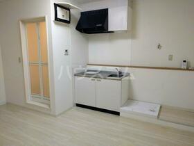 ポルシェ藤沢 103号室のキッチン