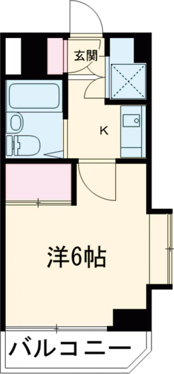 瑞江マキノビル・411号室の間取り