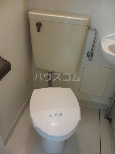シャンベール湘南 404号室のトイレ