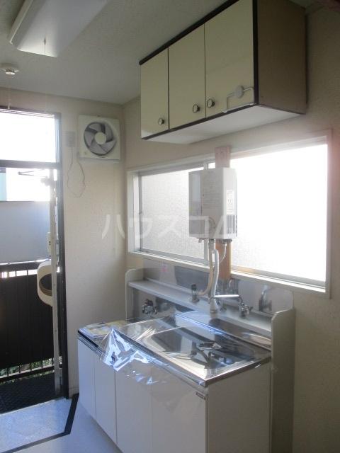 ホーリーハイツ 201号室のキッチン