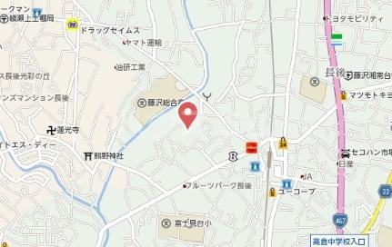 ベルドゥールナカネ 302号室の地図