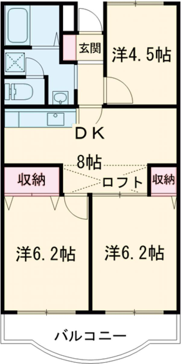 アメニティ芦田第3マンションの