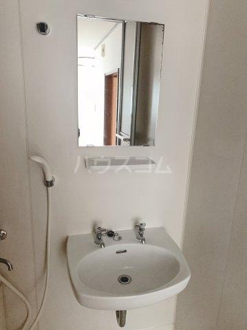 グランデュールドーマA 205号室の洗面所