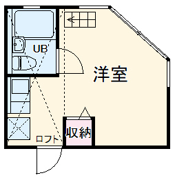 ピュアハウス山手弐番館・101号室の間取り