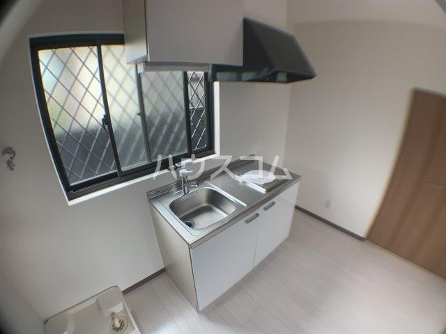 メゾンM 1号室のキッチン