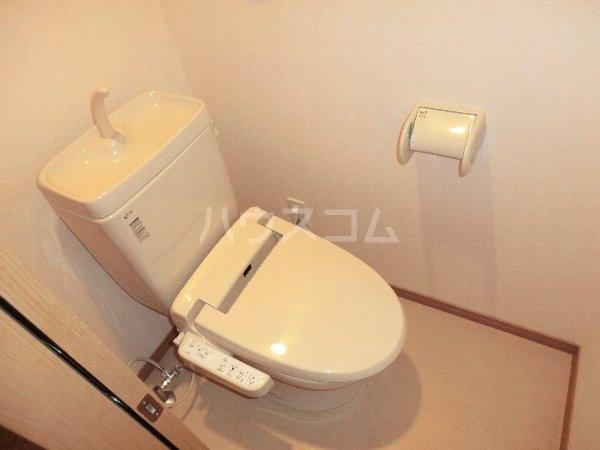 PROMENADE彩 202号室のトイレ