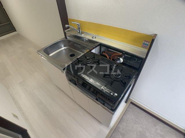 幕張.COM 202号室のキッチン