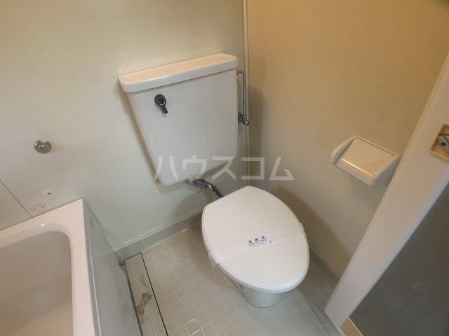 幕張.COM 202号室のトイレ