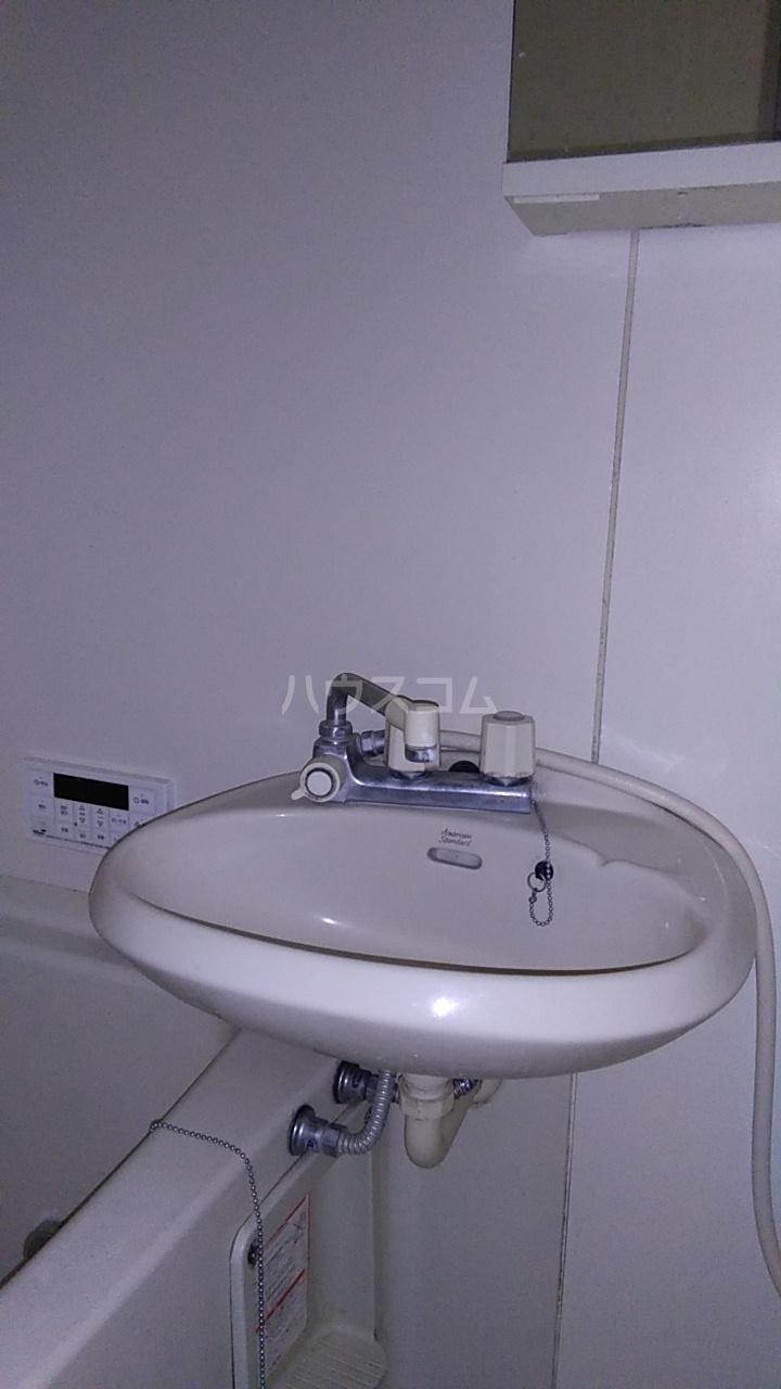 メイジー・S 101号室の洗面所