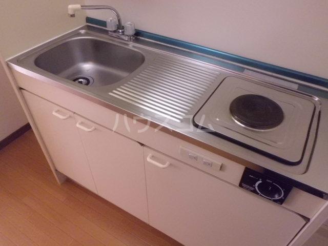 コーポK 204号室のキッチン