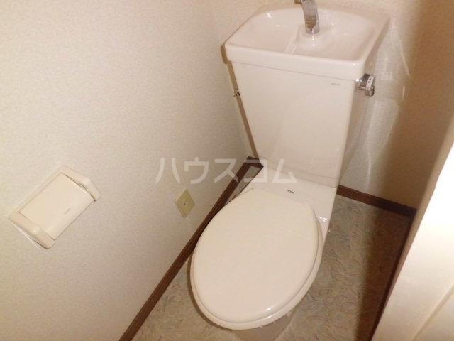 コーポK 204号室のトイレ