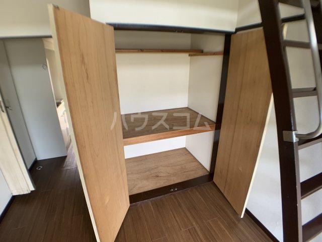 カーサフロール 津田沼 212号室の収納