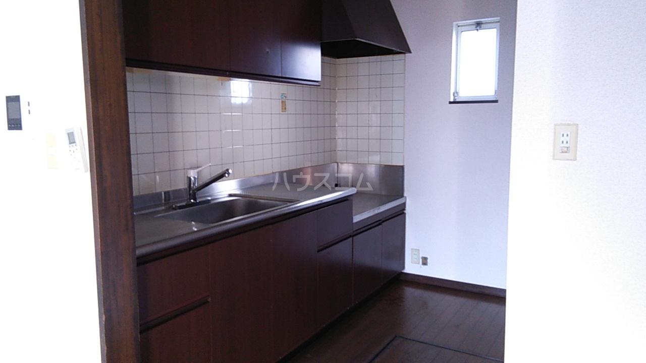ドリームアロー石川A棟のキッチン