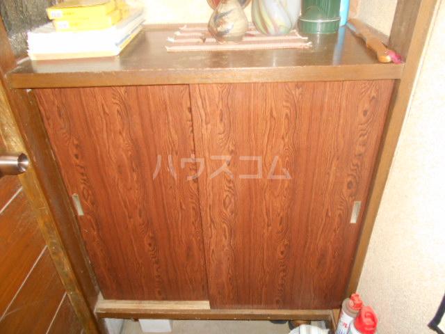 松本荘 A号室の収納