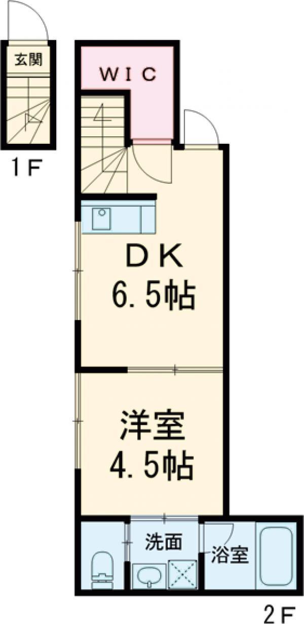 キングハウス吉祥寺・B201号室の間取り