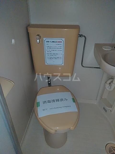 レジデンスGOOD 101号室のトイレ