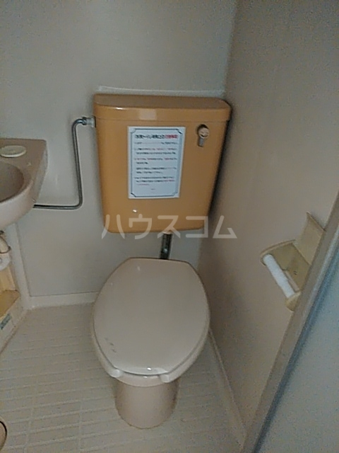 レジデンスGOOD 110号室のトイレ