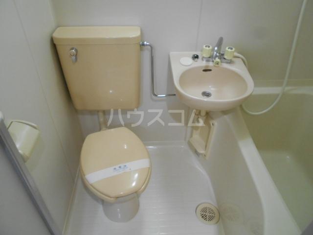 パールハイツ 102号室のトイレ