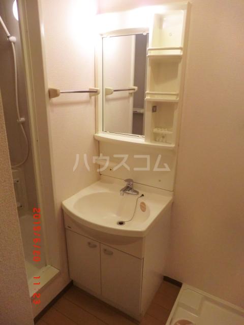 ファミーユ本地ケ原 201号室の洗面所