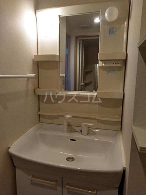 ルネス・ピュール 403号室の洗面所