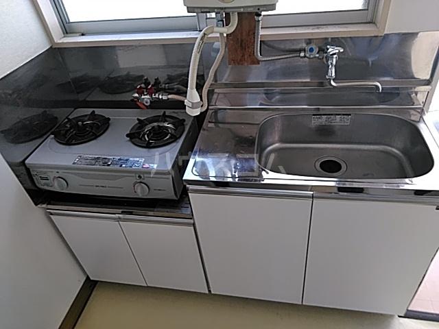 三井ハイツ 203号室のキッチン