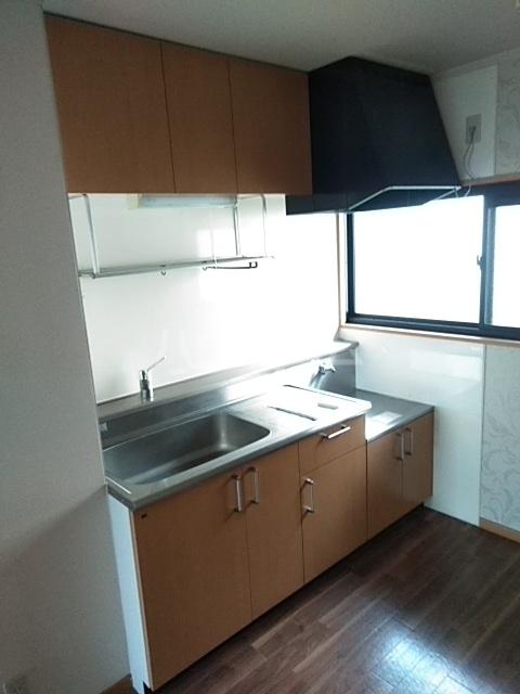 グリーンヴィレッジ瀬戸口 205号室のキッチン