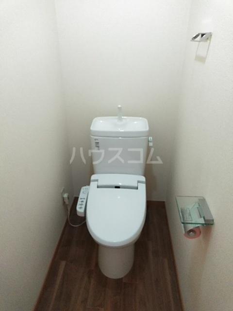 グリーンヴィレッジ瀬戸口 205号室のトイレ