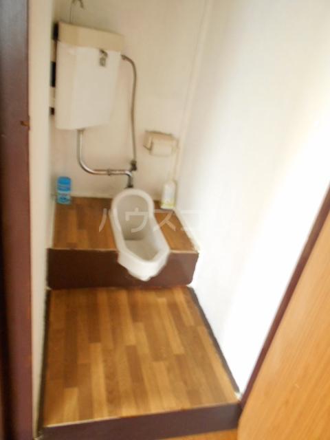 三与荘 13号室のトイレ