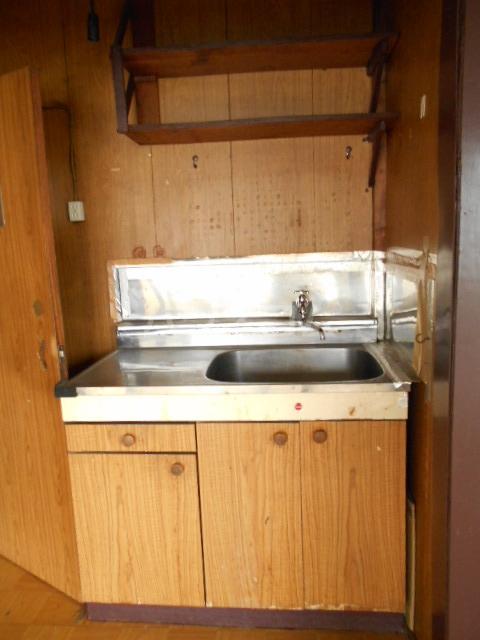 三与荘 13号室のキッチン