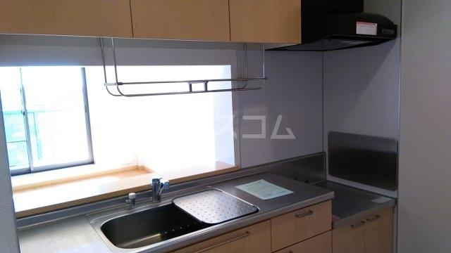 フェンテ南館 305号室のキッチン