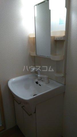 フェンテ南館 305号室の洗面所