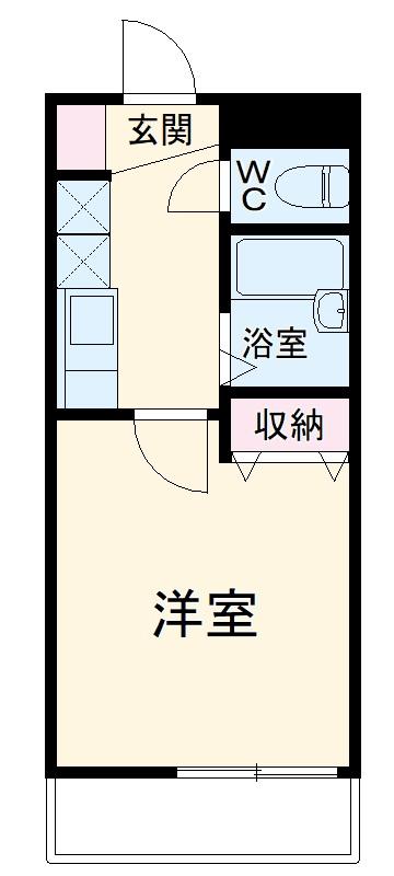 REALJOY薬円台六番館・302号室の間取り