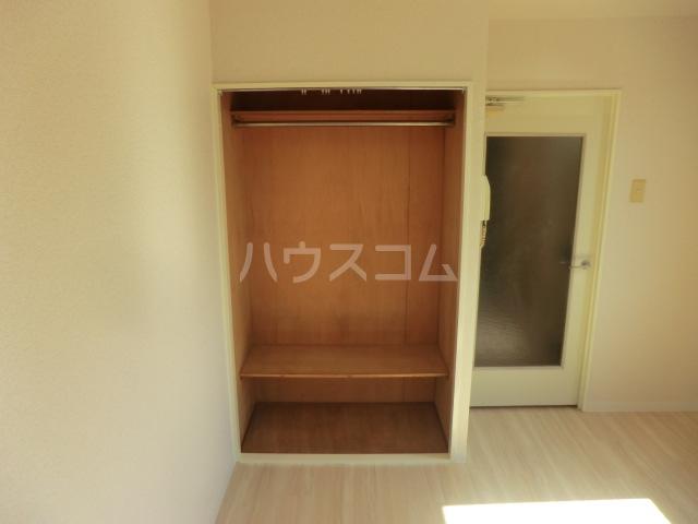 サンネコザネ 205号室の収納