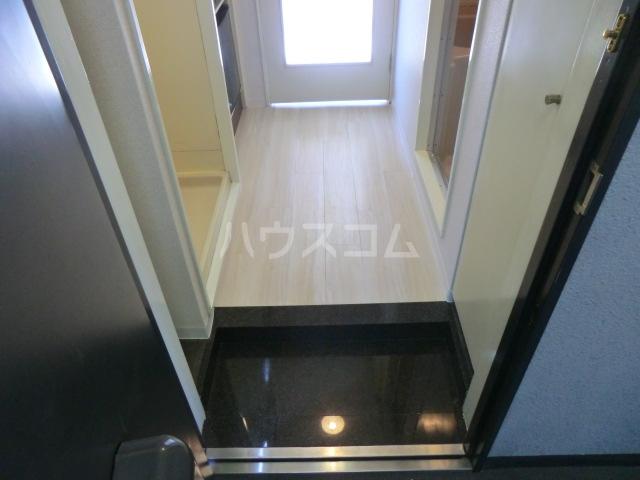 サンネコザネ 205号室の玄関