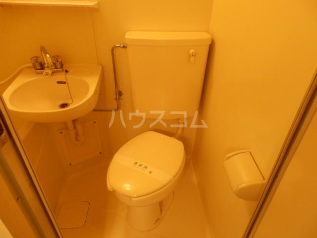 プレール池上弐番館 103号室のトイレ