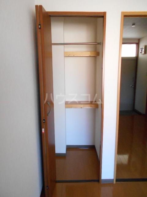 ピュアハウス 203号室の収納