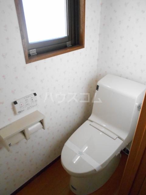 ピュアハウス 203号室のトイレ