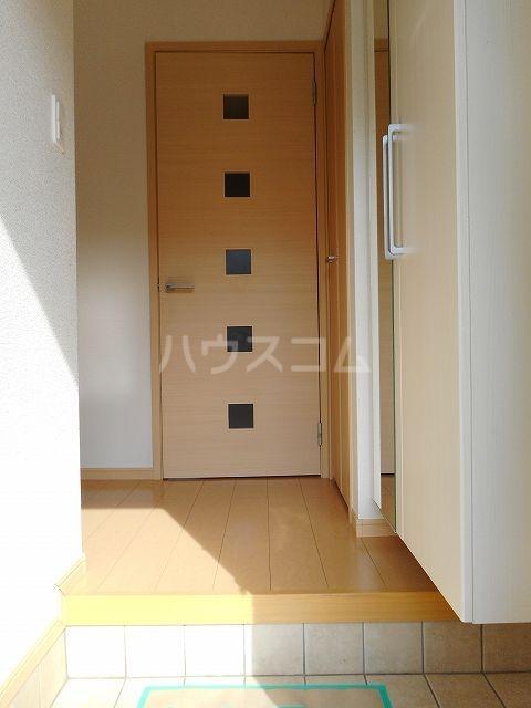 クラール・ブリーゼⅠ 01010号室の玄関