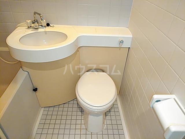 ラ・フォーレ日吉 203号室のトイレ