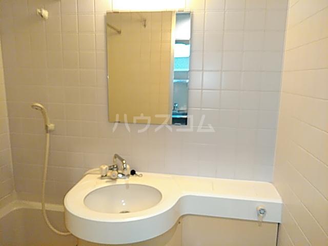 ラ・フォーレ日吉 203号室の洗面所