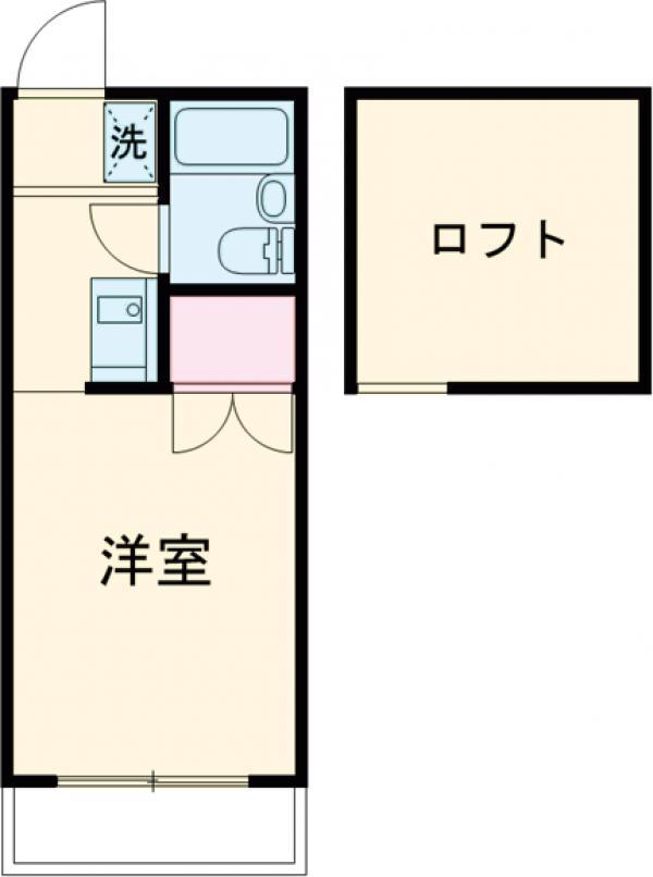 エクセレント吉祥寺・202号室の間取り
