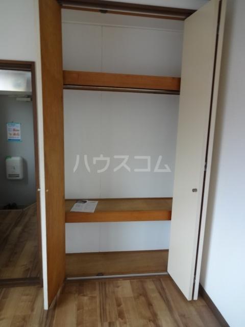 コーポY 201号室の収納