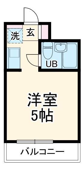 ライオンズマンション伊勢佐木町西第2 314号室の間取り