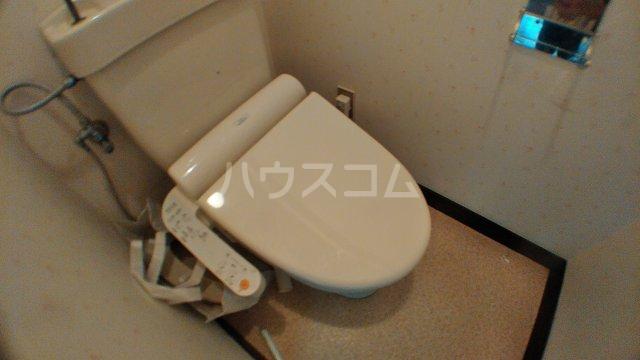 キャピタルステイ 405号室のトイレ
