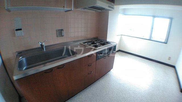 キャピタルステイ 405号室のキッチン
