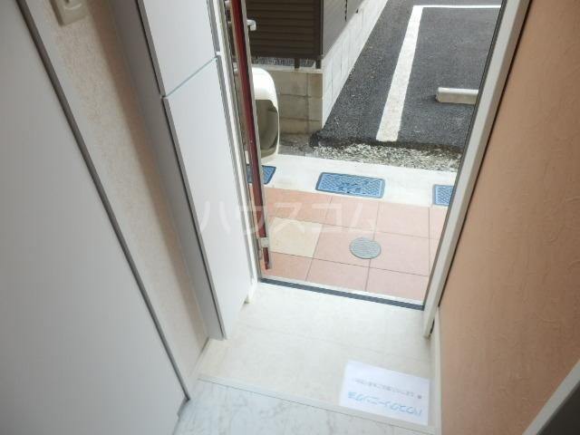 ロックヒル根岸 202号室の玄関