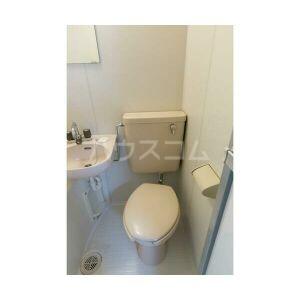 エステート中村 103号室のトイレ